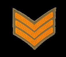 Нашивки сержантов и старшин армии Австралии