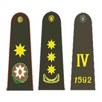Знаки различия сухопутных войск Азербайджана