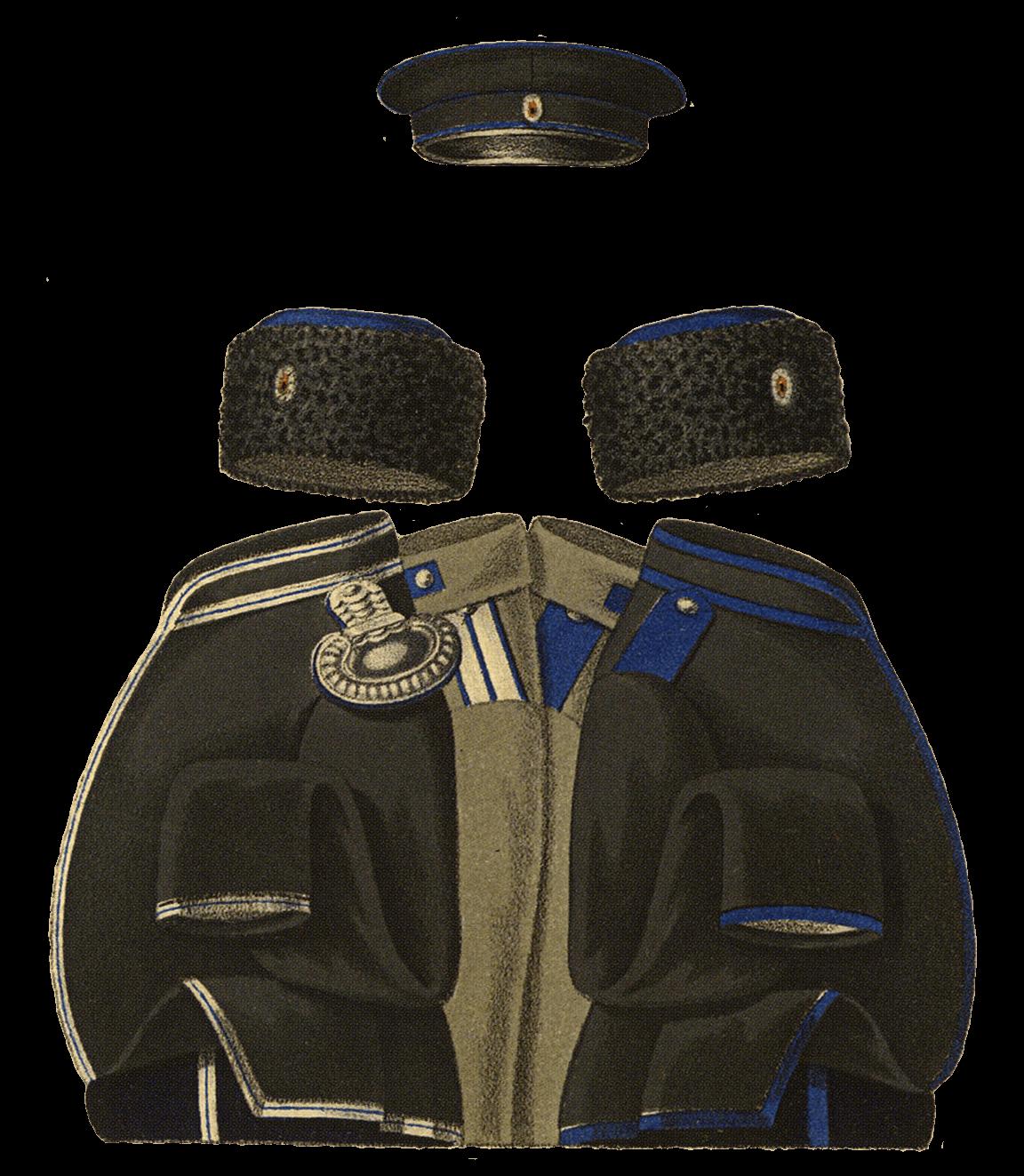 Униформа Башкирского эскадрона