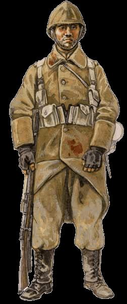 Бельгийская пехота 1914-1918 годов