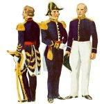 Униформа армии Бразилии 1822 — 1830 годов