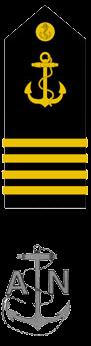Знаки различия гардемаринов ВМC Доминиканской республики