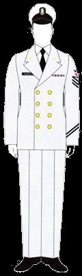Униформа сержантов и рядовых ВМФ Доминиканской республики