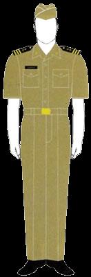 Униформа гардемаринов ВМФ Доминиканской республики
