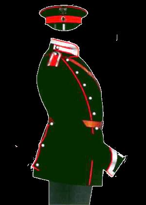 Униформа Елисаветградского кавалерийского юнкерского училища, 1897-1901 годы.