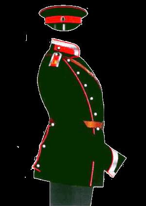 Униформа Елисаветградского кавалерийского юнкерского училища, 1901-1904 годы.