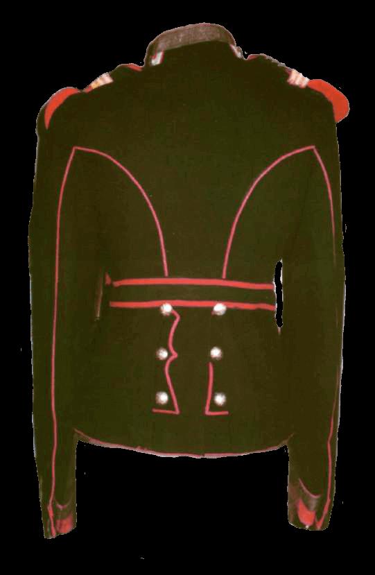 Мундир старшего портупей-юнкера Елисаветградского кавалерийского училища образца 1908 года.