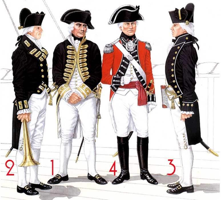 униформа Британского Королевского флота