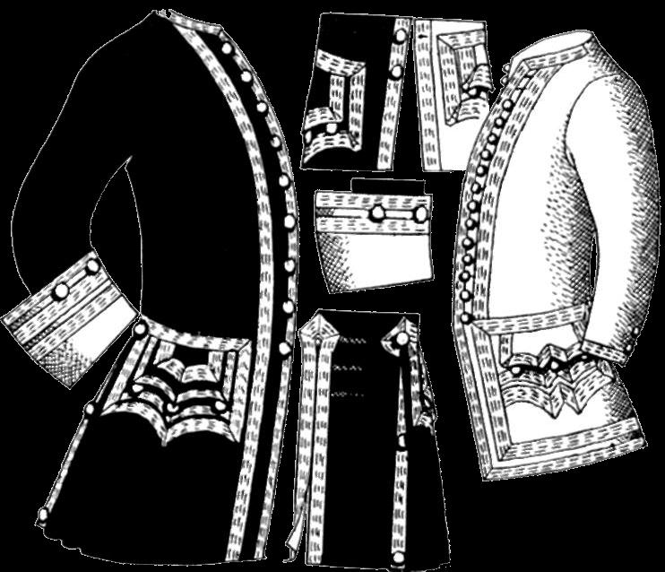 униформа Британского Королевского флота 1748