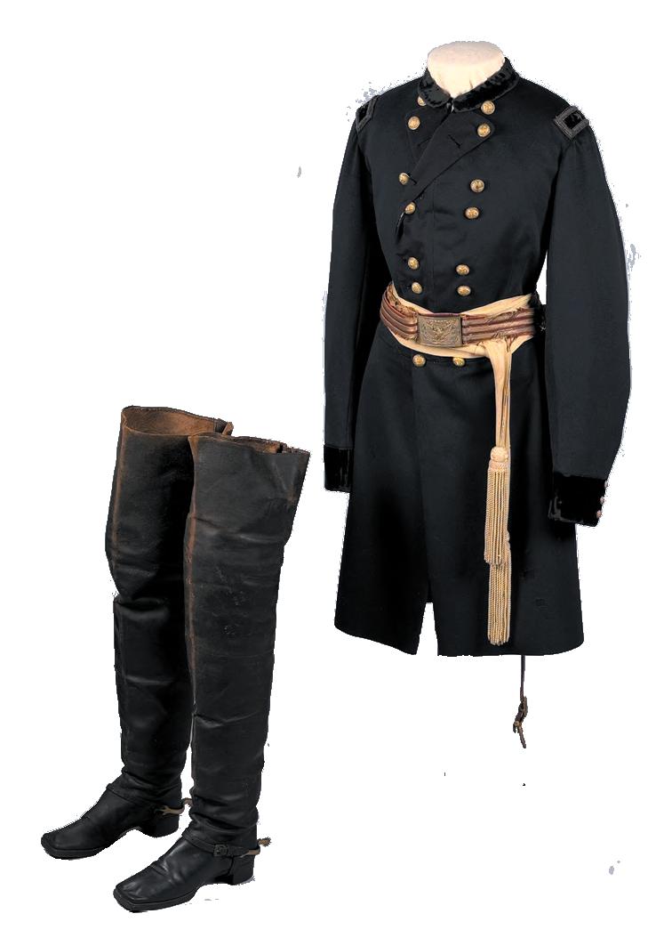 униформа кавалерии федералов 1861-1865 годов
