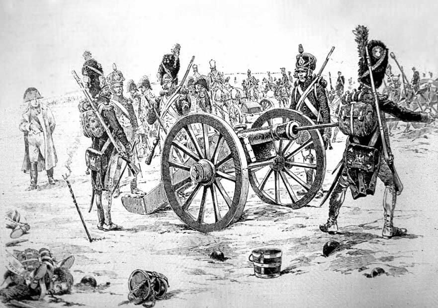 пешая артиллерия Наполеона