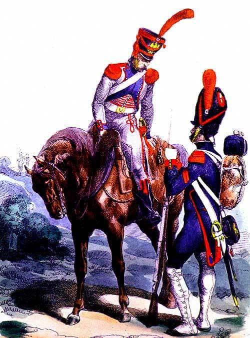 Конный артиллерийский обоз (поезд) армии Наполеона (Le Train d'Artillerie, The Artillery Train)