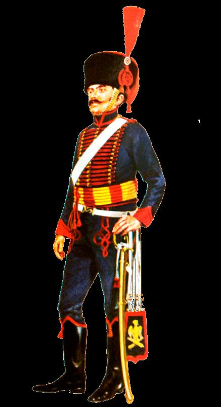 Униформа конной артиллерии Императорской гвардии Наполеона