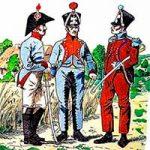 Конный артиллерийский обоз (поезд) армии Наполеона