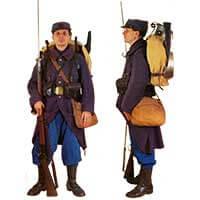 Французский пехотинец Первой мировой войны