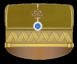 Знаки различия на кепи греческой армии 1910-1915 годов