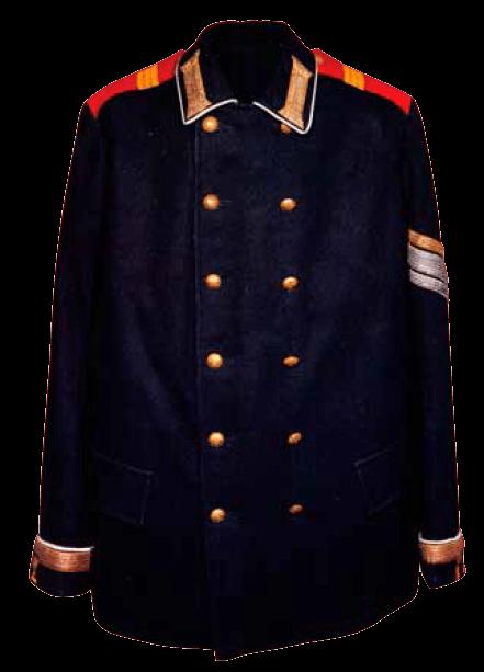Мундир унтер-офицера Гвардейского экипажа, конец ХIХ - начало ХХ века.