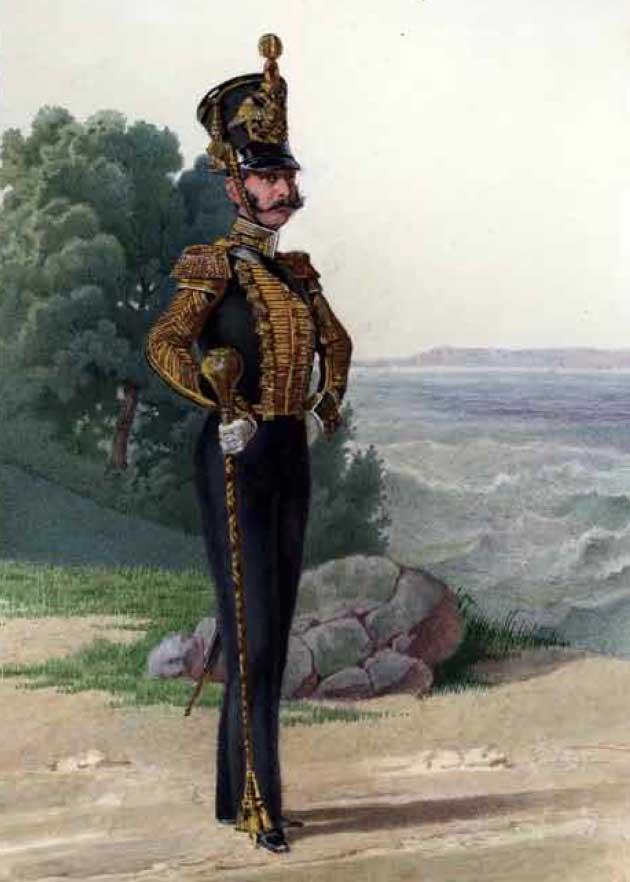 Тамбур-мажор Гвардейского экипажа, 1843–1844 годы.