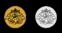 Пуговицы Гвардейского экипажа, 1830 -1857 годы.