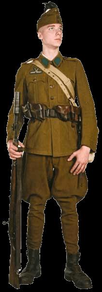 Униформа сухопутных войск венгерской королевской армии 1926-1945 годов