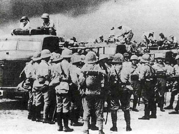 Японская пехота 1931 - 1945 годов