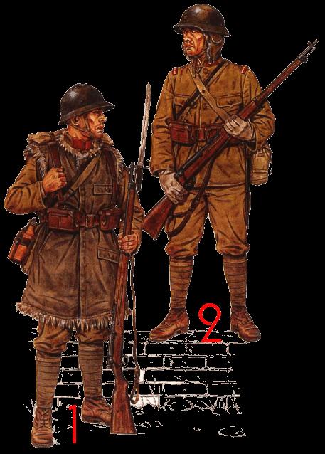 униформа японской пехобы 1931 — 1945 годов