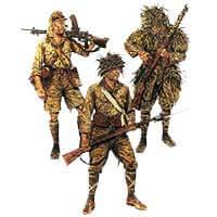 Японская пехота 1942 — 1945 годов