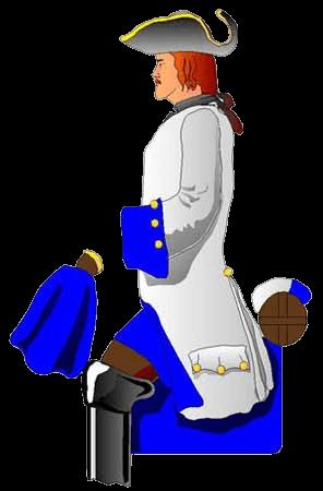Драгун Крассова, до 1703 года.