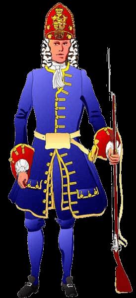 Офицер гренадерского полка.