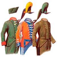 Потемкинский мундир 1783-1796 годов часть 3