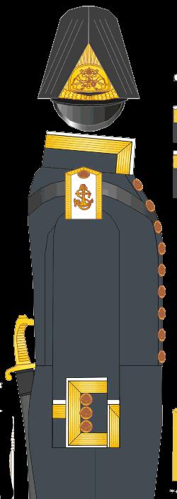 Мундир старшего унтер-офицера Морского Кадетского Корпуса.