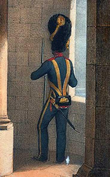 униформа Роты Дворцовых Гренадёр
