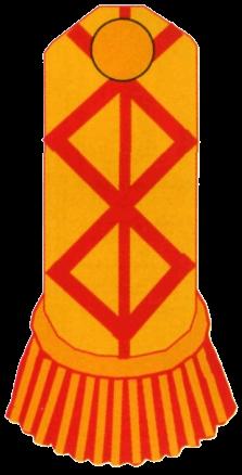 Знаки различия французской армии 1786 года