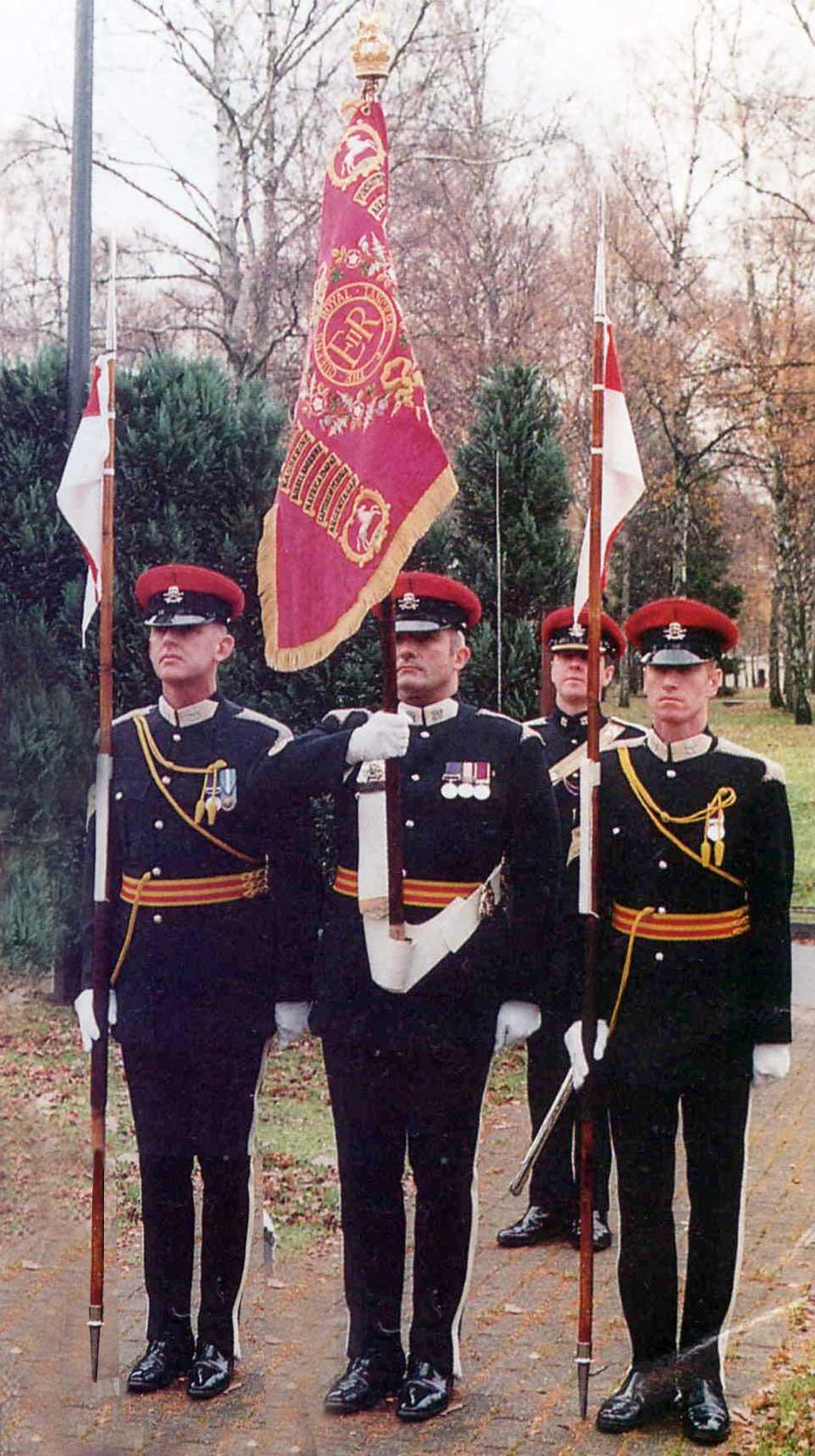 униформа Queen's Royal Lancers