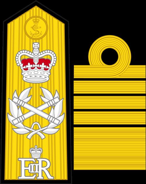 Знаки различия Короевского военно-морского флота Великобритании
