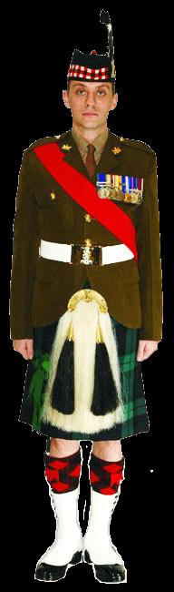 Униформа Королевского полка Шотландии (Royal Regiment of Scotland)