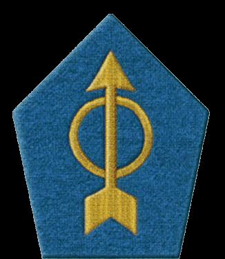 Петлицы офицеров и кадровых унтер-офицеров армии Сенегала
