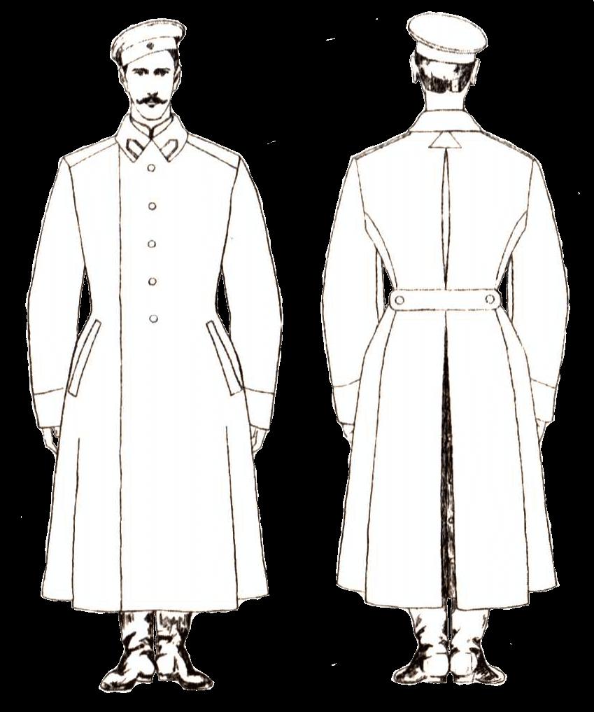 Зимняя форма солдат Сердюкской дивизии