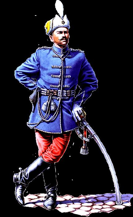 Старшина Лубенского Сердюкского конно-казачьего полка