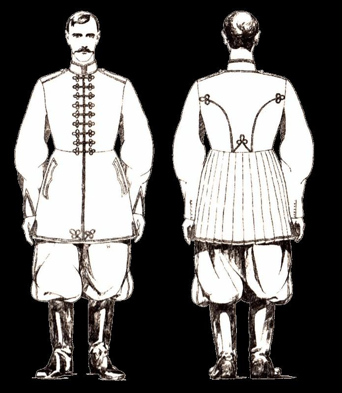 Форма осавулов гетмана Скоропадского