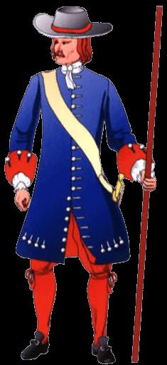 Униформа солдата терции Толедо.