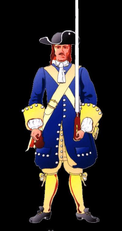 Униформа рядового терсио де Арагон (Tercio de Aragon).