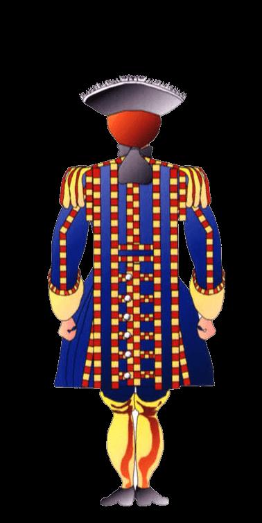 Униформа барабанщика терсио де Арагон (Tercio de Aragon).