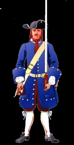 Униформа рядового Баварского полка (Bavarian I.R. Electoral Prince/ Kurprinz).