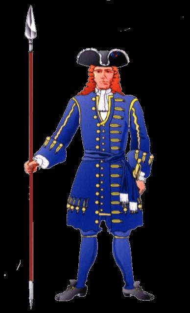 Униформа офицера Баварского полка (Bavarian I.R. Electoral Prince/ Kurprinz).