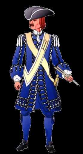 Униформа барабанщика Баварского полка (Bavarian I.R. Gds of His Electoral Highness).