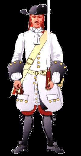 Униформа рядового Австрийского полка Кобург (Austrian I.R.Coburg). На врезке – манжеты и пуговицы сержанта.