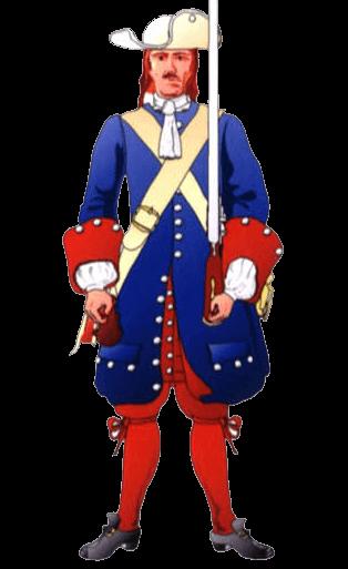 Униформа солдата терцио де Севилла.
