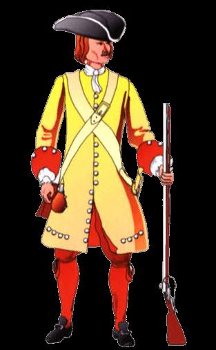 Униформа солдата терцио Генри Гейга (Tercio Henry Gage), 1677 – 1691 годы.