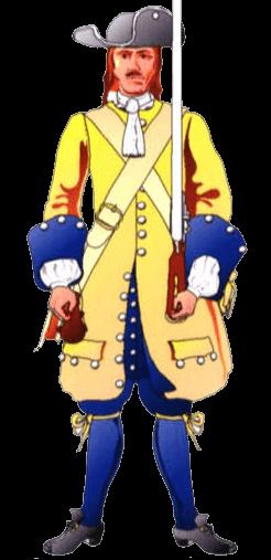 Униформа солдата терцио де Леон.